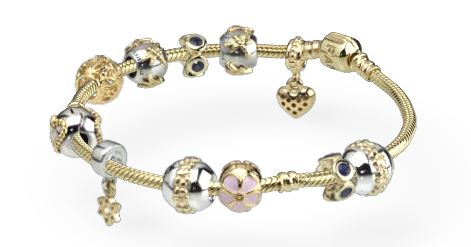 bijoux pandora or