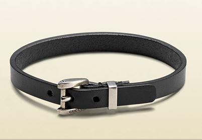 Bracelet cuir Gucci