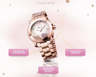 Chopard fête les 20 ans de la collection Happy Sport