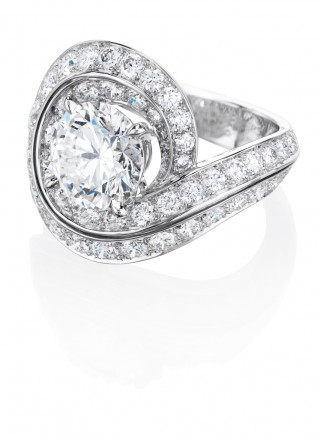 PHENOMENA CREST RING, De Beers