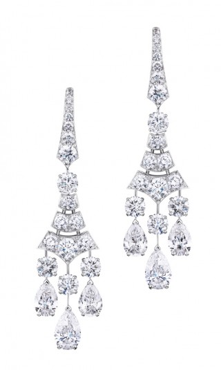 PHENOMENA FROST EARINGS, De Beers