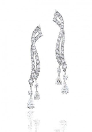 PHENOMENA STREAM EARRINGS De Beers