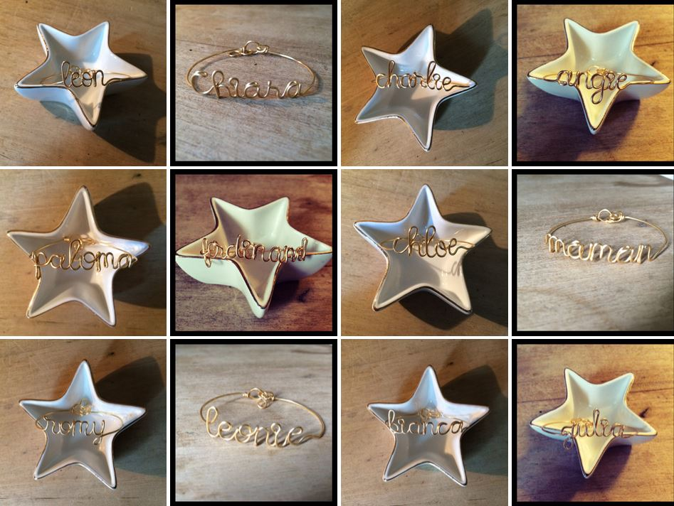 Bracelets personnalisés Atelier Paulin