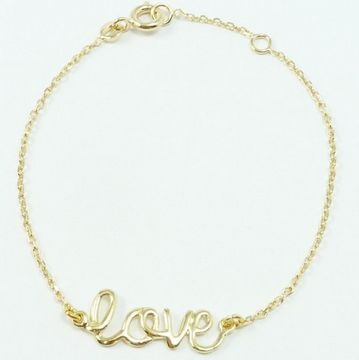 Bracelet love Delphine Pariente