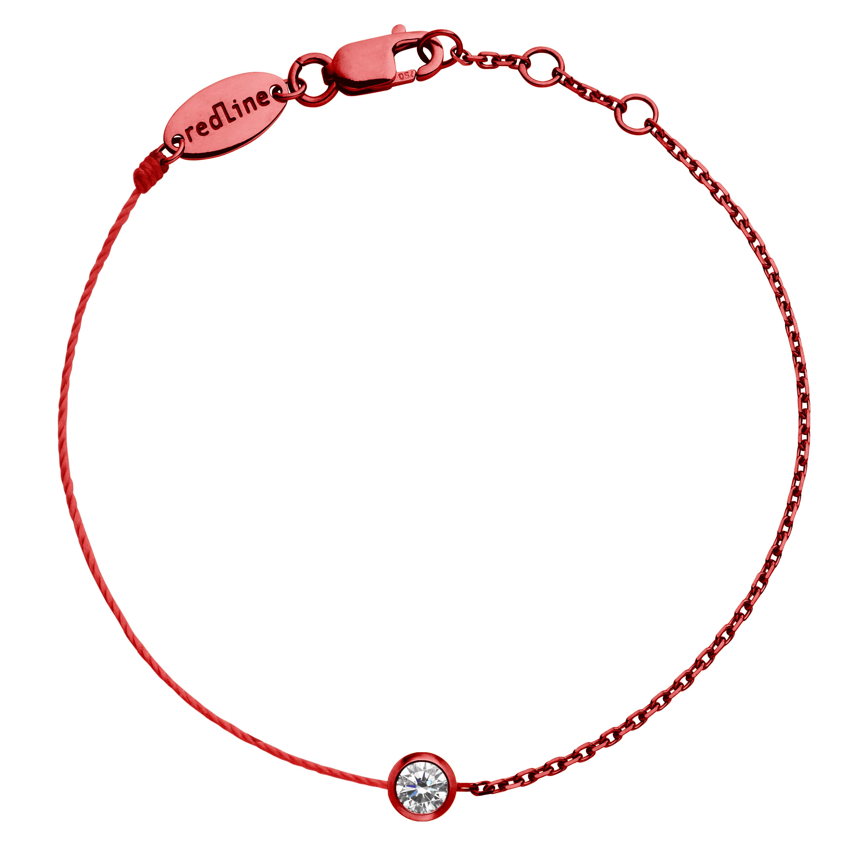 rouge PURE DOUBLE BRACELET FIL-min
