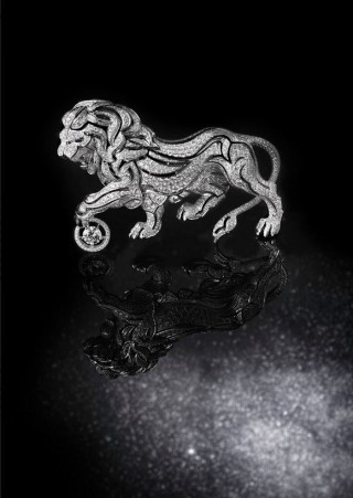 Broche Lion Céleste Chanel