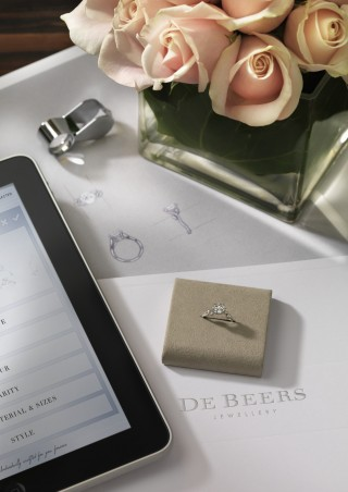 Illustration For You Forever De Beers