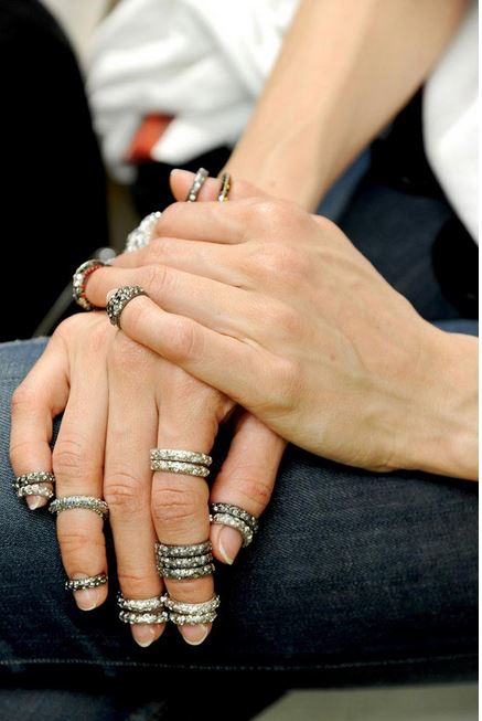 Bagues Ongles, Chanel