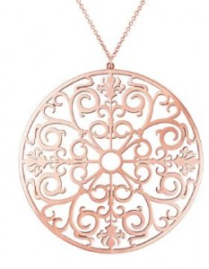 Pendentif Rose Rubedo Tiffany & co