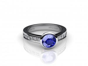 Bague Venise Saphir Bleu