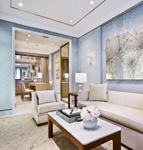 Salons luxueux Tiffany & Co