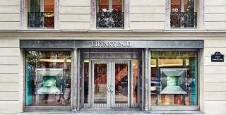 Tiffany sur les Champs Elysees