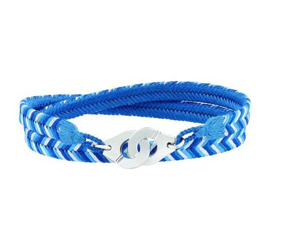 Bracelet été Dinh Van, bleu