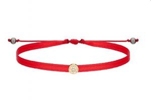 Bracelet Cordon Pop, Or Jaune, 8 Diamants