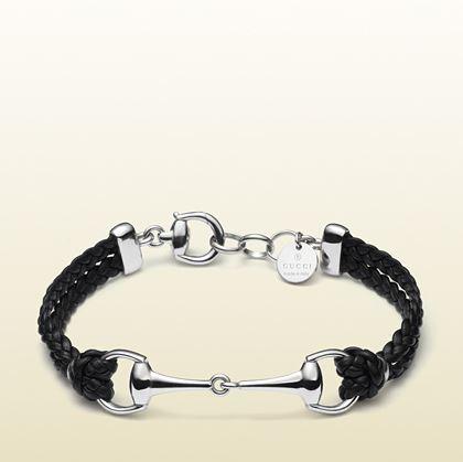 Bracelet cuir Homme Gucci