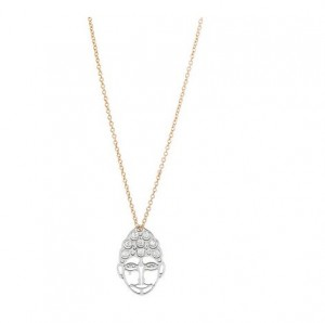 Collier Pendentif Buddha Diamonds Gynette Ny
