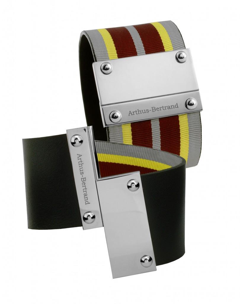 bracelet ruban noir MM BON