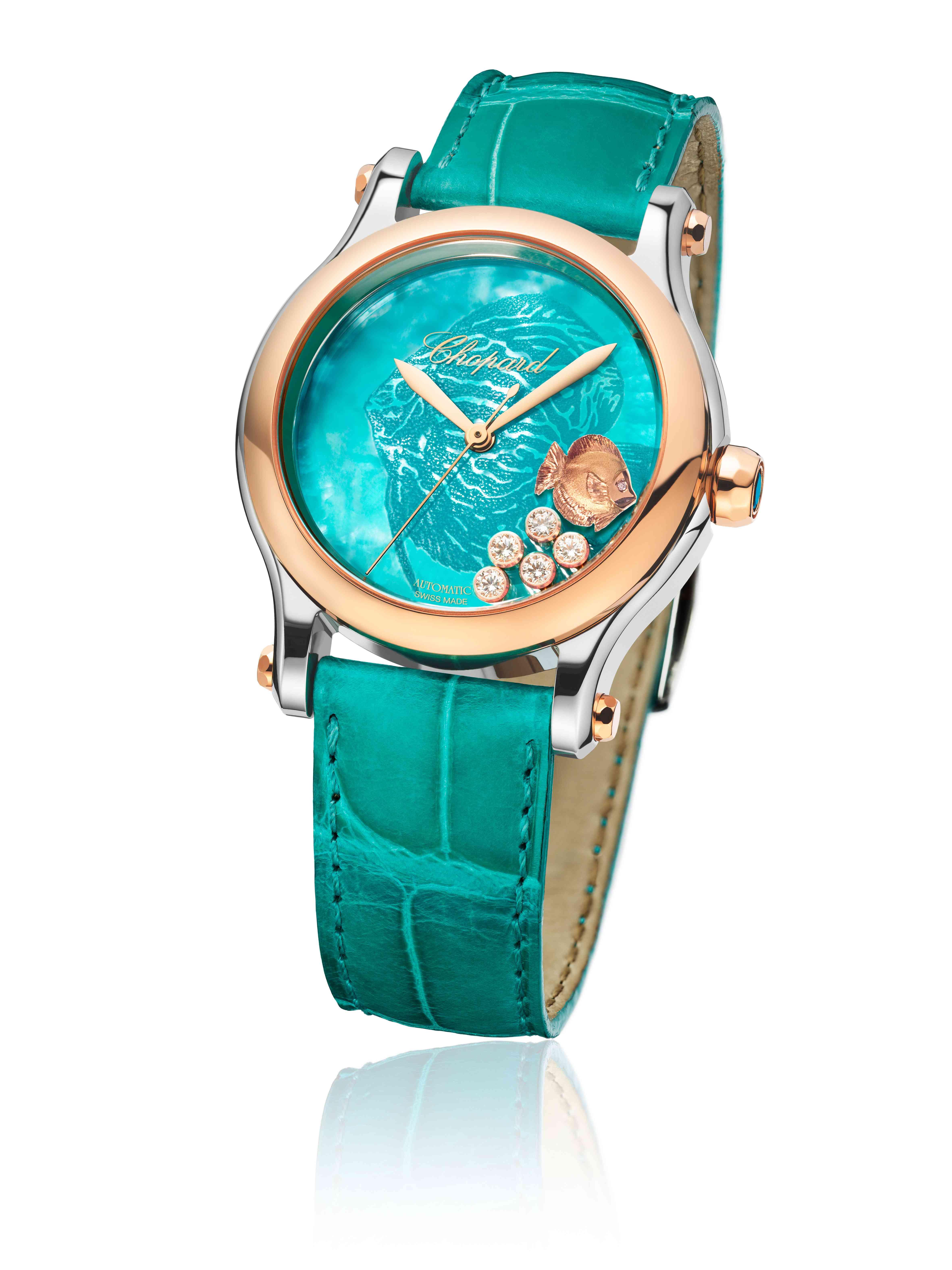 Happy Fish turquoise 12