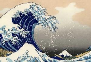 La Grande Vague de Kanagawa Hokusai Katsushika