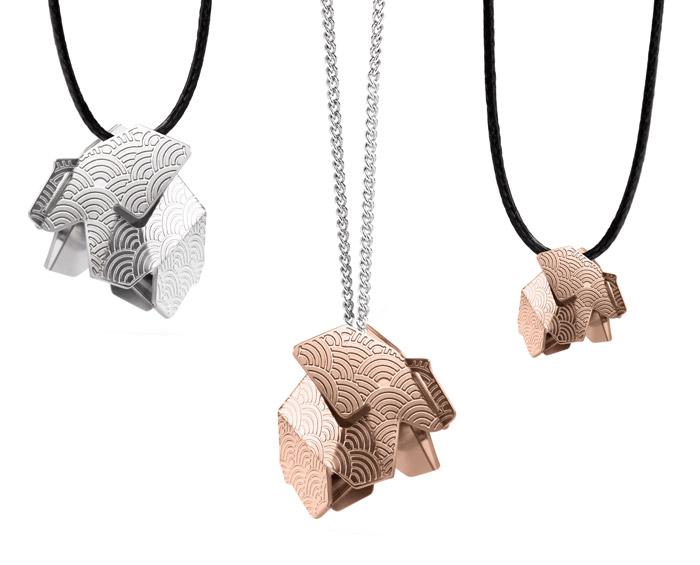 Collection bijoux joligami